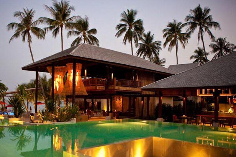 zwembadnacht - Anantara Rasananda - Koh Phangan - Thailand