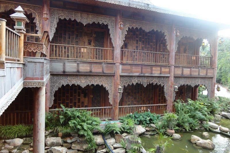 binnenplaats - Santhiya Resort & Spa - Koh Phangan - Thailand