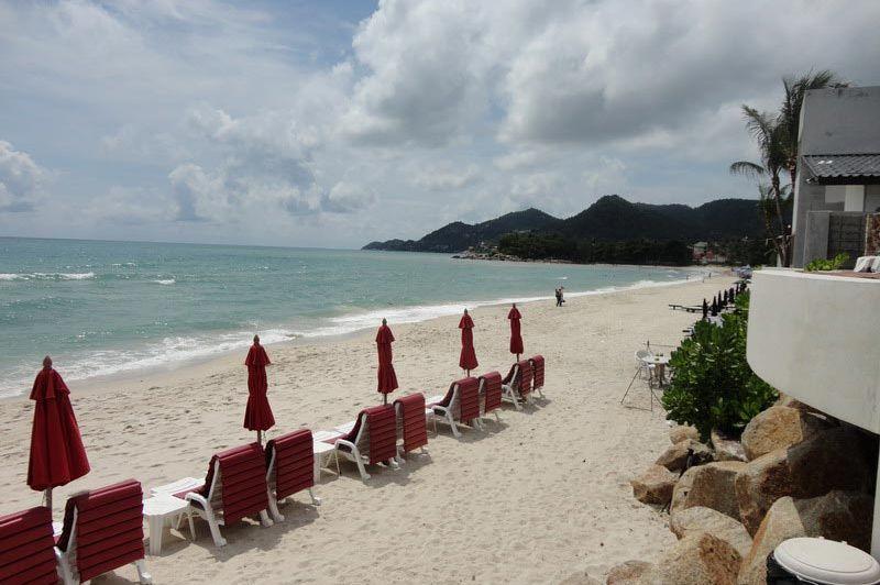 uitzicht - Kirikayan Resort - Koh Samui - Thailand