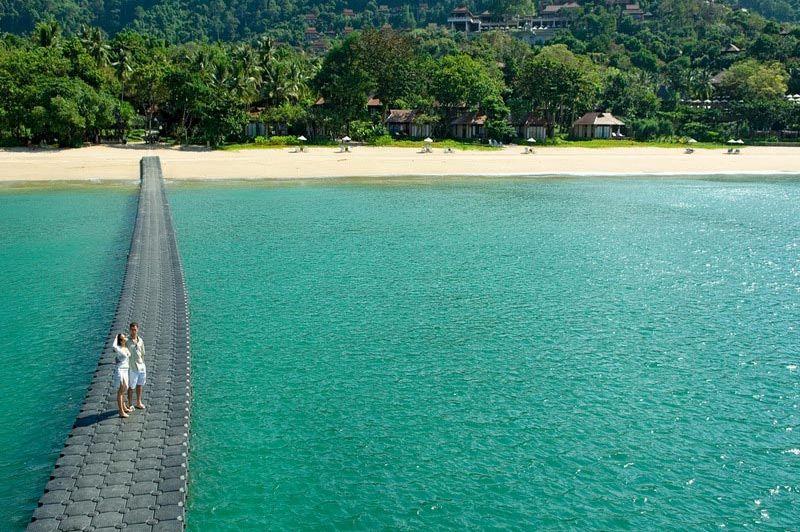 aanzicht vanaf zee - Pimalai Resort & Spa - Koh Lanta - Thailand