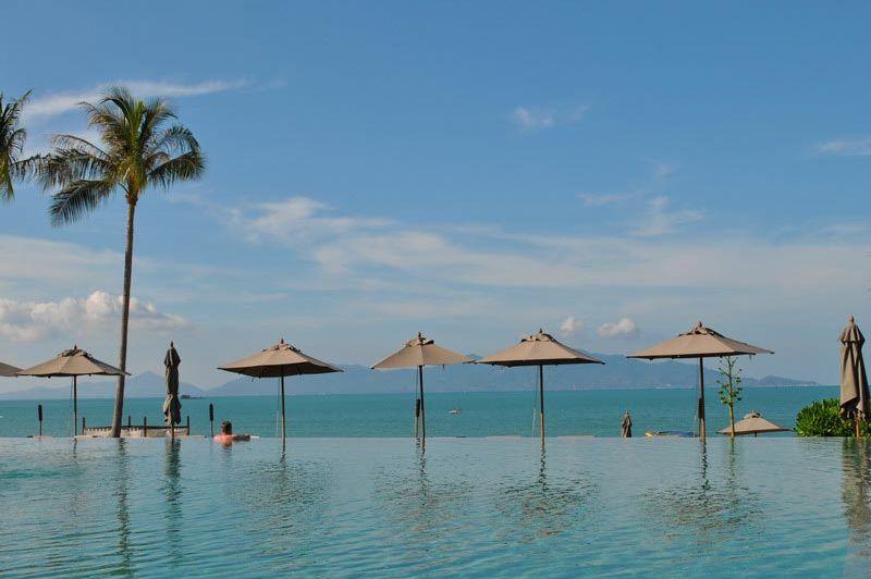 Hansar Samui zwembad - Hansar Samui - Thailand - foto: Marloes Wijnhoff