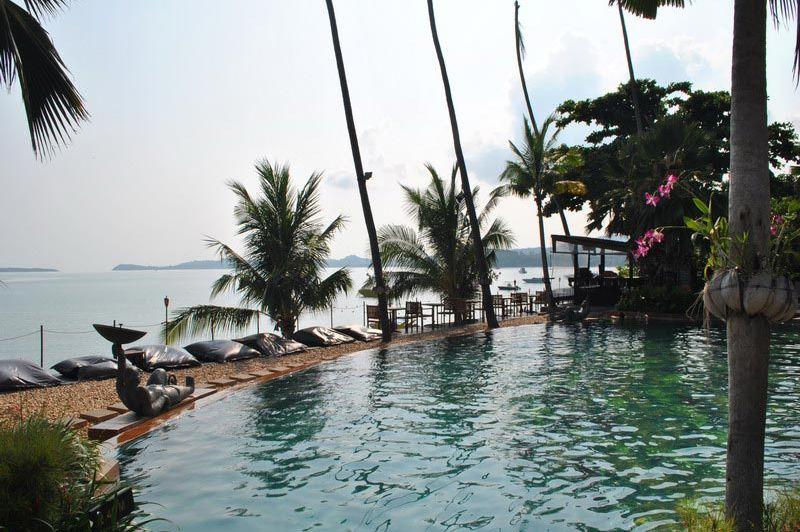Anantara Bophut zwembad - Anantara Bophut - Thailand - foto: Marloes Wijnhoff
