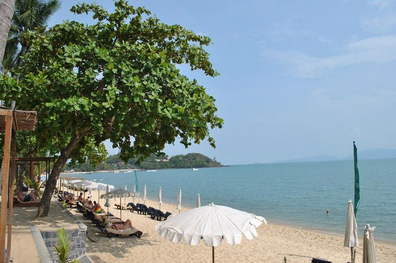 Peace Resort strand - Peace Resort - Thailand - foto: Marloes Wijnhoff