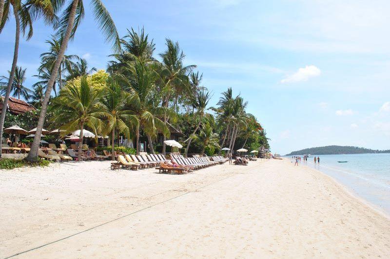 Chaweng Regent Beach Resort strand - Chaweng Regent Beach Resort - Thailand - foto: Marloes Wijnhoff