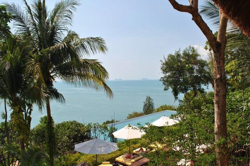 Six Senses uitzicht - Thailand - foto: Marloes Wijnhoff