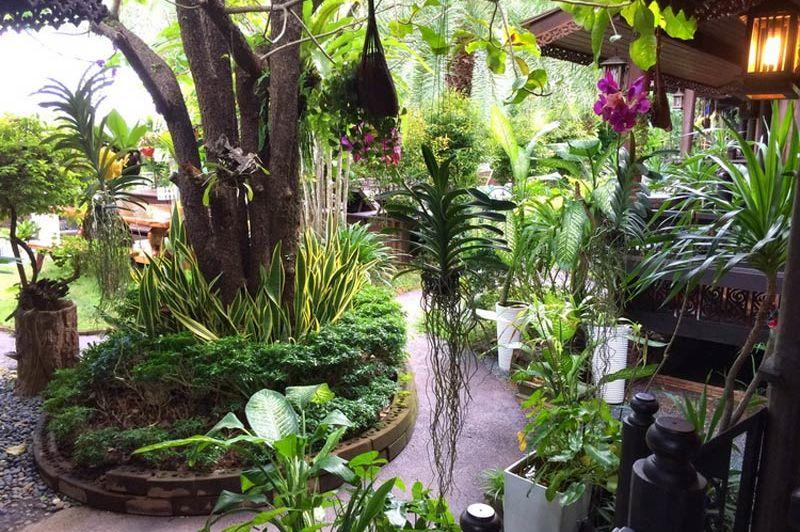 Tuin Baan Habeebee Resort op Krabi - Baan Habeebee Resort - Thailand - foto: Baan Habeebee Resort