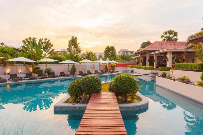 Zwembad van het Dewa Phuket Resort op Phuket - Dewa Phuket Resort - Thailand - foto: Dewa Phuket Resort