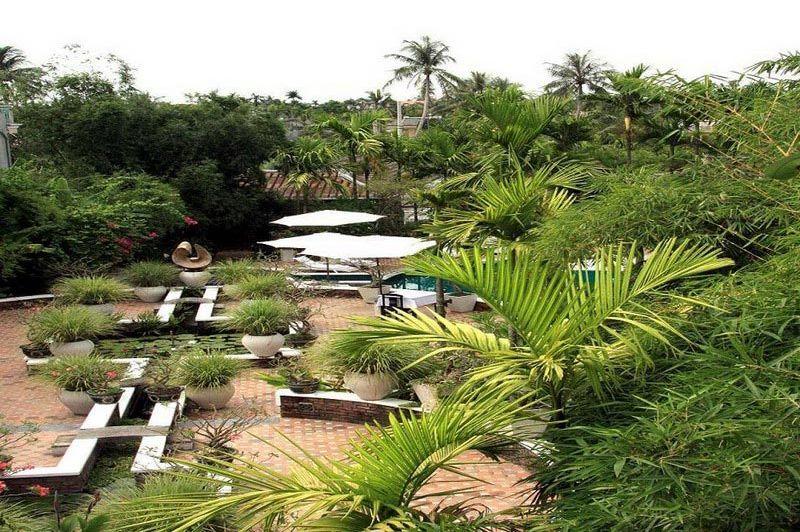 tuin - Ancient House Resort - Vietnam - foto: Floor Ebbers