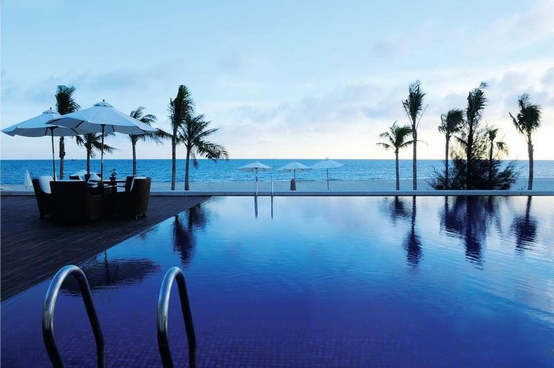 zwembad - Princess d'Annam Resort & Spa - Phan Thiet / Mui Ne - Vietnam