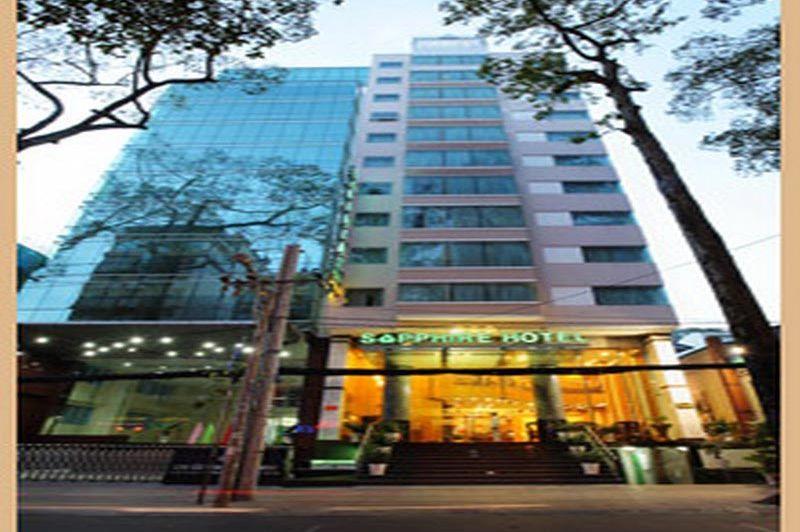 vooraanzicht - Sapphire Hotel - Ho Chi Minh City - Vietnam