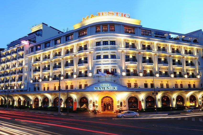 vooraanzicht - Hotel Majestic Saigon - Vietnam