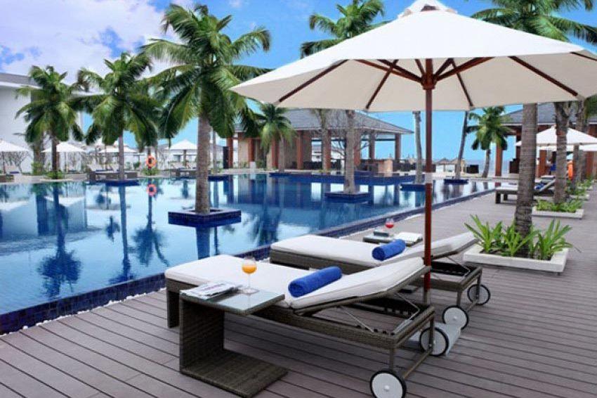 zwembad - Sunrise Hoi An Beach Resort - Vietnam