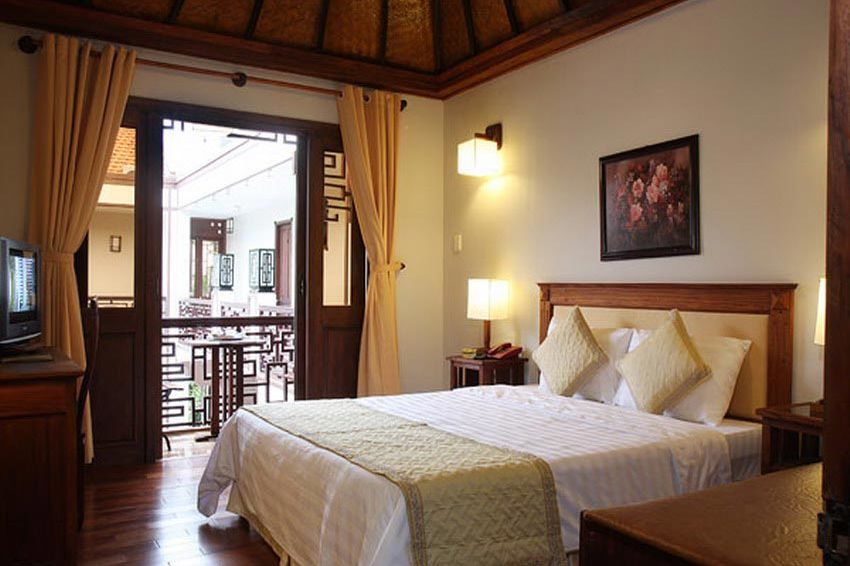 slaapkamer - Vinh Hung 2 Hotel - Vietnam