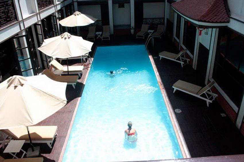 zwembad - Vinh Hung 2 Hotel - Vietnam