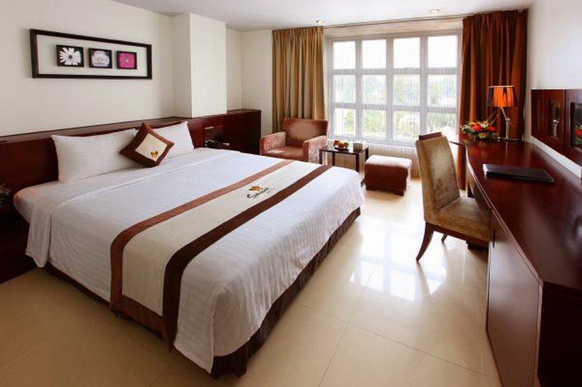 slaapkamer - Sanouva Hotel - Vietnam