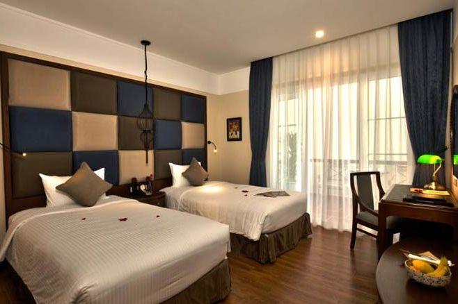 La Siesta Hotel - slaapkamer - La Siesta Hotel - Vietnam