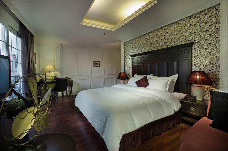 Slaapkamer in het Hanoi Boutique 1 Hotel - Hanoi Boutique 1 Hotel - Vietnam - foto: Hanoi Boutique 1 Hotel