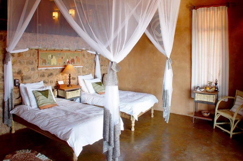 kamer - Stanley Safari Lodge - Livingstone - Zambia