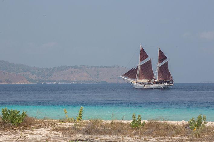 zeilboot in Komodo - Seatrek Bali - Indonesie - foto: Seatrek Bali