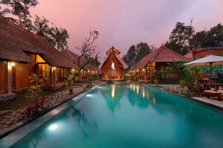 zwembad - De Umah Bali - Bangli - Bali - foto: De Umah Bali