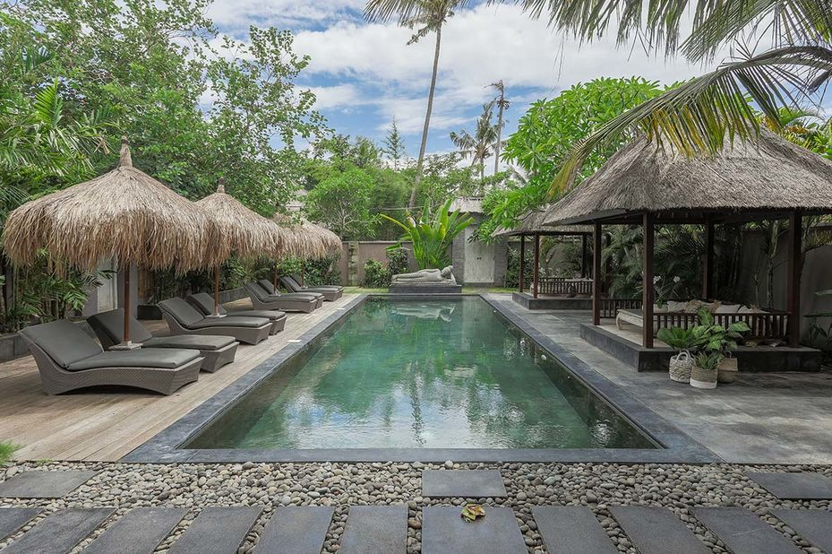 zwembad - Indiana Kenanga Hotel - Nusa Lembongan - Bali - Indonesië - foto: Indiana Kenanga Hotel