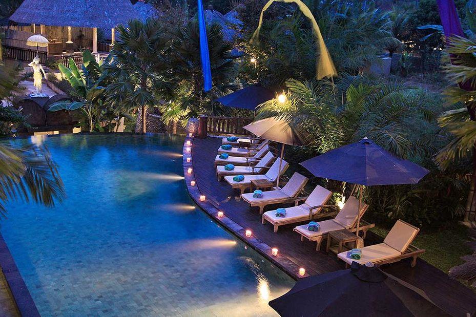 zwembad - The Sankara - Ubud - Bali - Indonesië - foto: Sankara