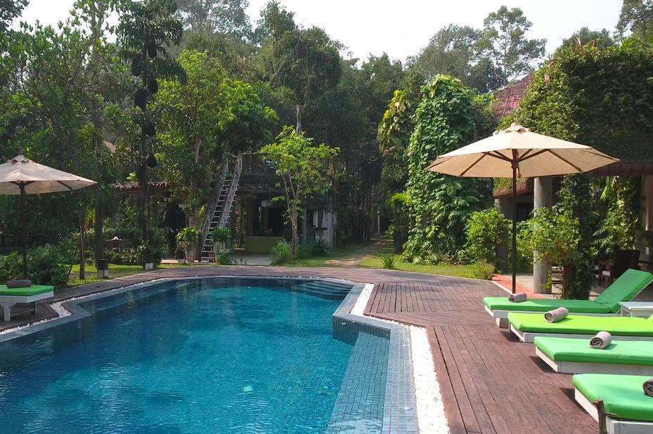 zwembad - Rokkhak River Resort - Siem Reap - Cambodja - foto: Rokkhak River Resort