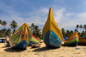 Aaliyirakkm Beach - Varkala - Kerala - India - foto: flickr