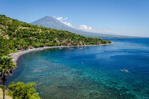 Amed - Black Beach - Bali - Indonesie - foto: flickr
