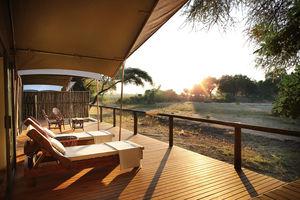 Anabezi Tentend Camp - veranda - Lower Zambezi - Zambia