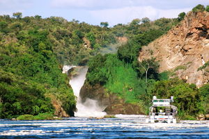 Boottocht - Murchison Falls - Oeganda - foto: Bakers Lodge