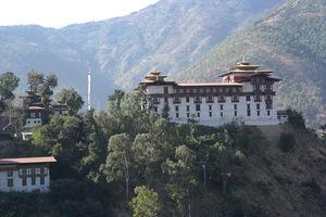 Dzong van Trashigang - Bhutan