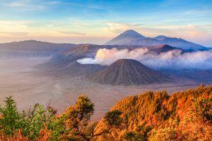 Bromo - Vulkaan - Zonsopkomst - Java - Indonesie - foto: flickr