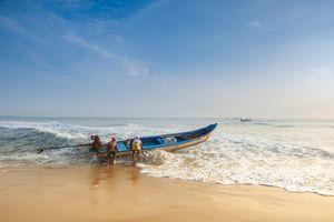 Chennai - Strand - Vissersboot - India - foto: flickr
