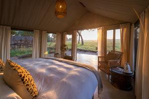 Davisons Camp - slaapkamer - Hwange National Park - Zimbabwe