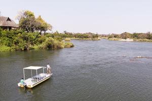 Divava - Boottocht - Zambezi Region - Namibie - foto: Divava Okavango Resort