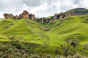 Drakensbergen - landschap - Zuid-Afrika