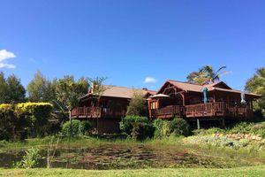Fish Eagle Lodge - hoofdgebouw - Knysna - Zuid-Afrika