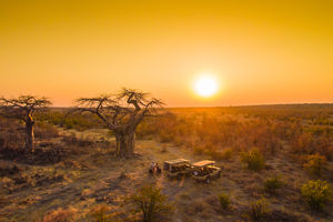 Goha Hills Savuti Lodge - landschap - Savuti Botswana