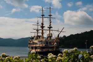 Hakone piratenschip, Japan