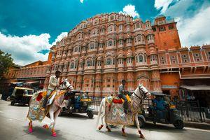 Hawa Mahal - Jaipur - Voorkant - India - foto: unsplash