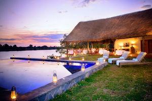 Ila Lodge - zwembad - Kafue National Park - Zambia