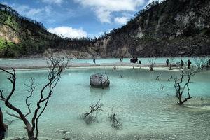 Indonesie - Java - Bandung - Kawah Putih - foto: pixabay