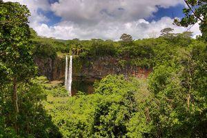 Lakaz Chamarel - waterval - Mauritius - foto: Lakaz Chamarel