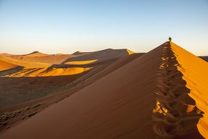 Landschap - Sossusvlei - Namibie - foto: pixabay