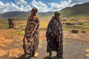 Lesotho - Sani Pass - lokale bevolking - Zuid-Afrika