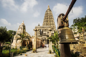 Mahabodhi Tempel - Entree - Bodhgaya - India - foto: flickr