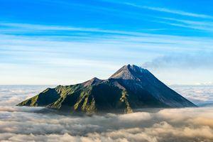 Merapi - Vulkaan - Java - Indonesie - foto: pixabay