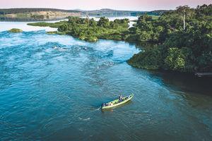 Nijl - Jinja - Oeganda - foto: Lemala Wildwaters Lodge