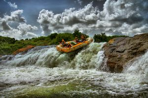 Nijl - raften - Jinja - Oeganda - foto: Lemala Wildwaters Lodge